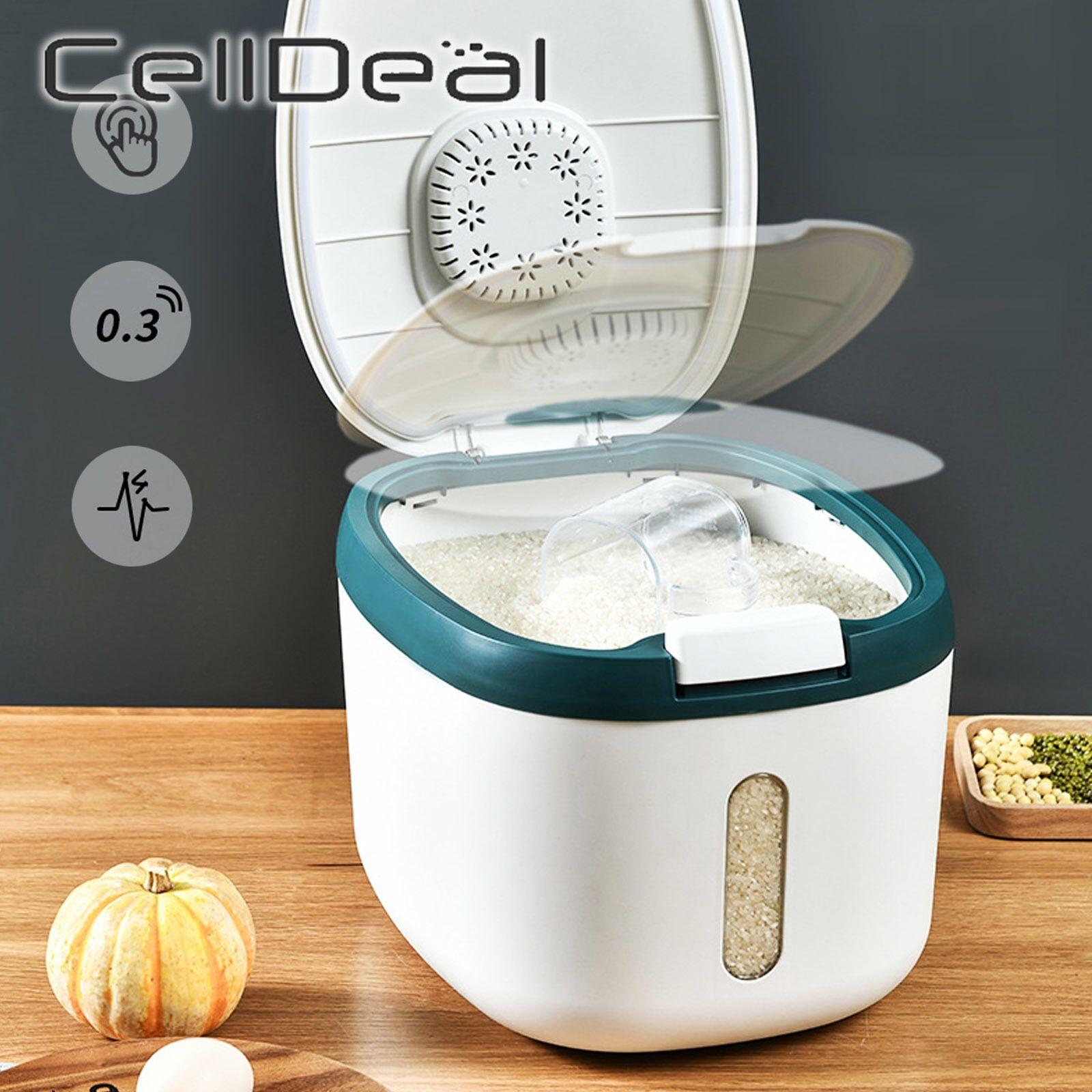 AliExpress Conteneur de cuisine 5KG 10KG, seau Nano anti-insectes, résistant à l'humidité, Grain de riz, bocal