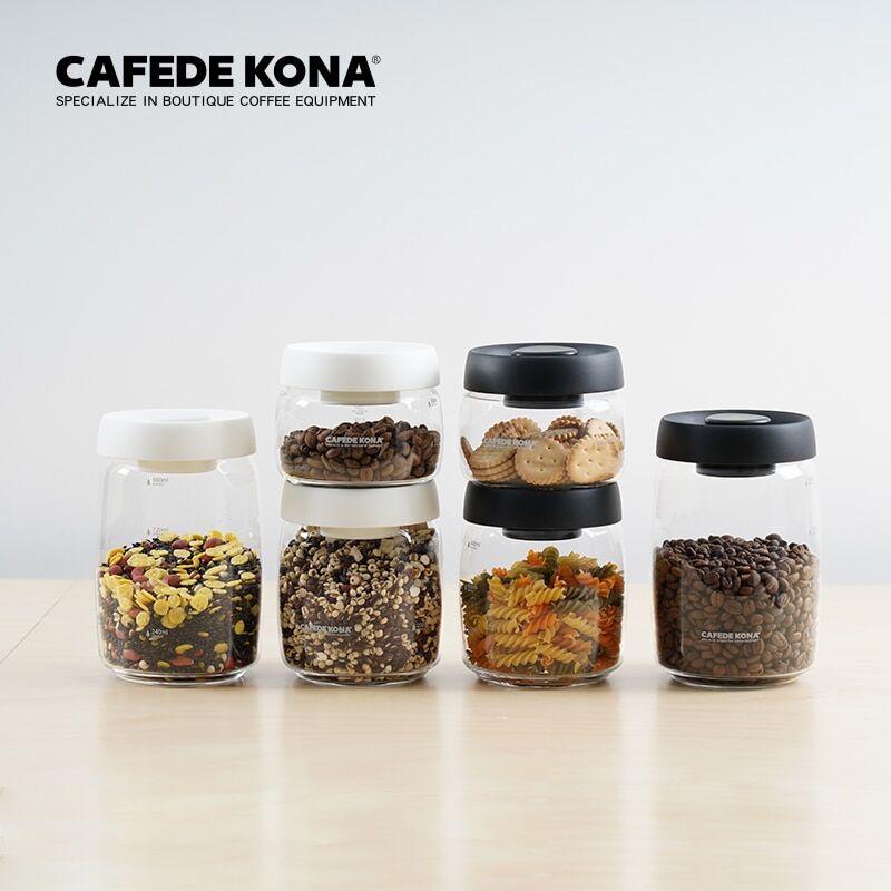 AliExpress Cafedecona bocal en verre Borosilicate, récipient en verre scellé sous vide bocaux de stockage en