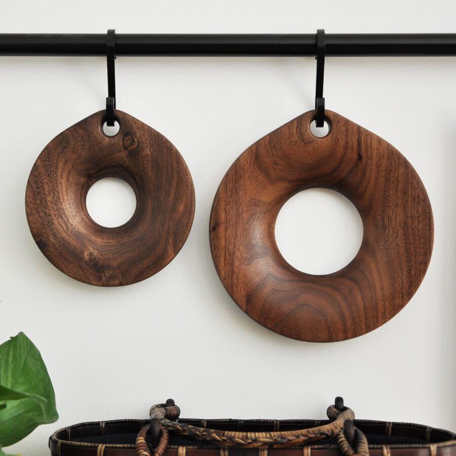 AliExpress Support de Pot en noyer, dessous de verre en bois résistant à la chaleur, tapis de bol, Pots à thé,