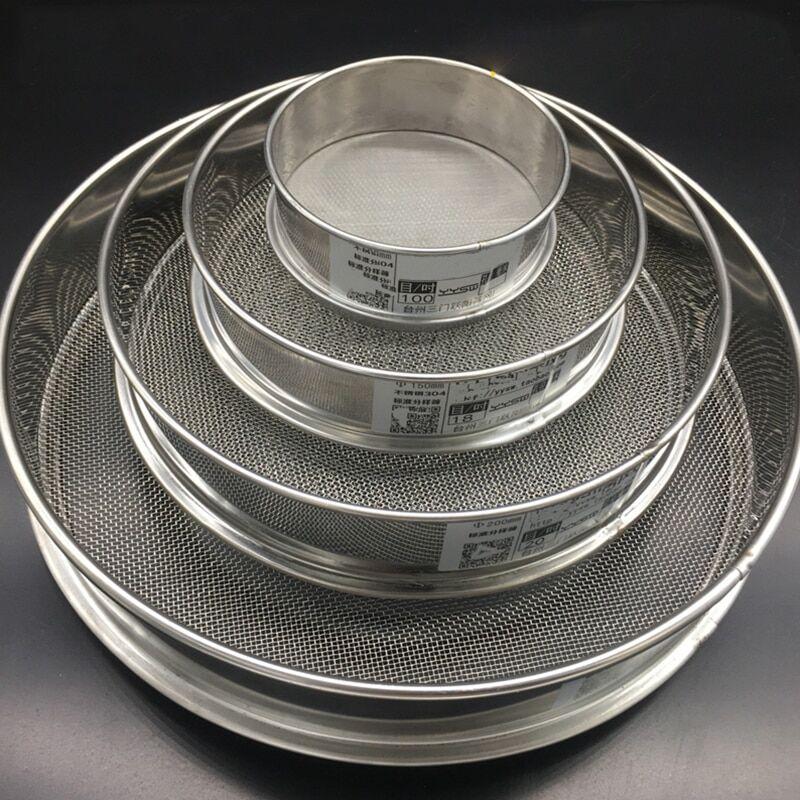 AliExpress Tamis à farine rond en acier inoxydable 300, 2-304 M, filtre à poudre d'huile de haricots, pour la