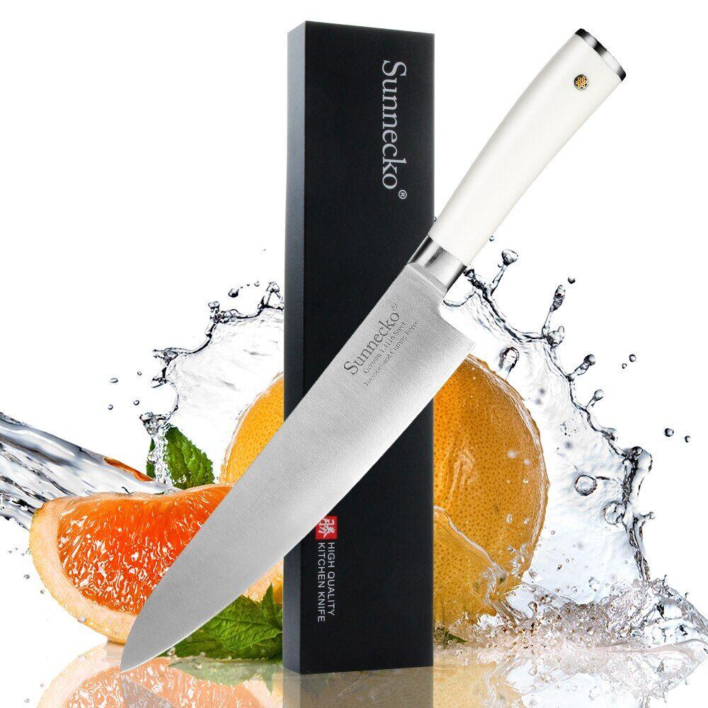 """AliExpress Sunnecko couteau de Chef 8 """"pouces légumes viande couteaux de cuisine à haute teneur en carbone"""