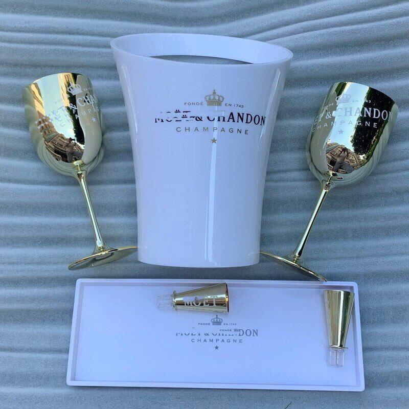 AliExpress Tasse à Champagne en plastique, seau à glace en acrylique blanc, pour Cocktail, armoire à vin,