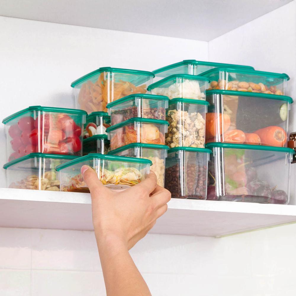 AliExpress Boîte de conservation des aliments hermétique, récipient en plastique transparent pour la cuisine,