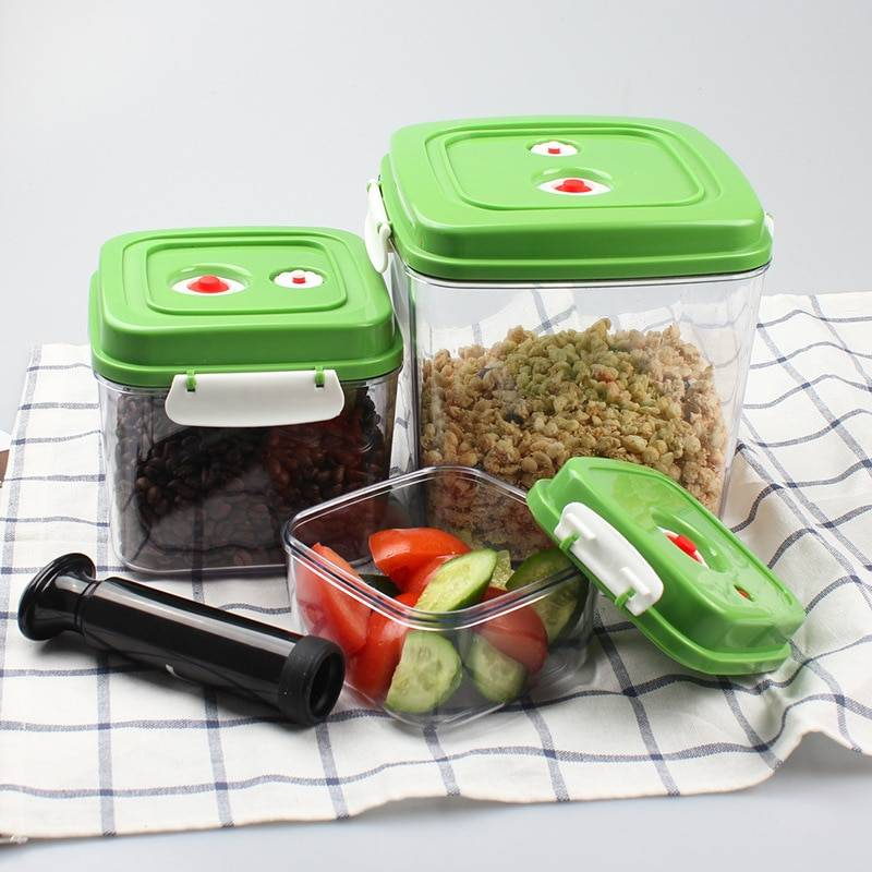 AliExpress Boîte de conservation des aliments au frais, conteneur sous vide boîte de conservation des aliments