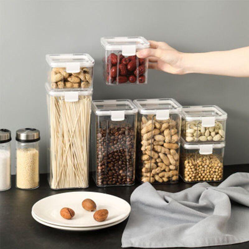 AliExpress Boîte alimentaire transparente, conserve la fraîcheur, nouveau récipient Transparent, différentes