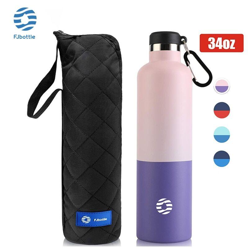 AliExpress FJbottle – bouteille Thermos à vide en acier inoxydable 18/10, bouteille d'eau de grande capacité