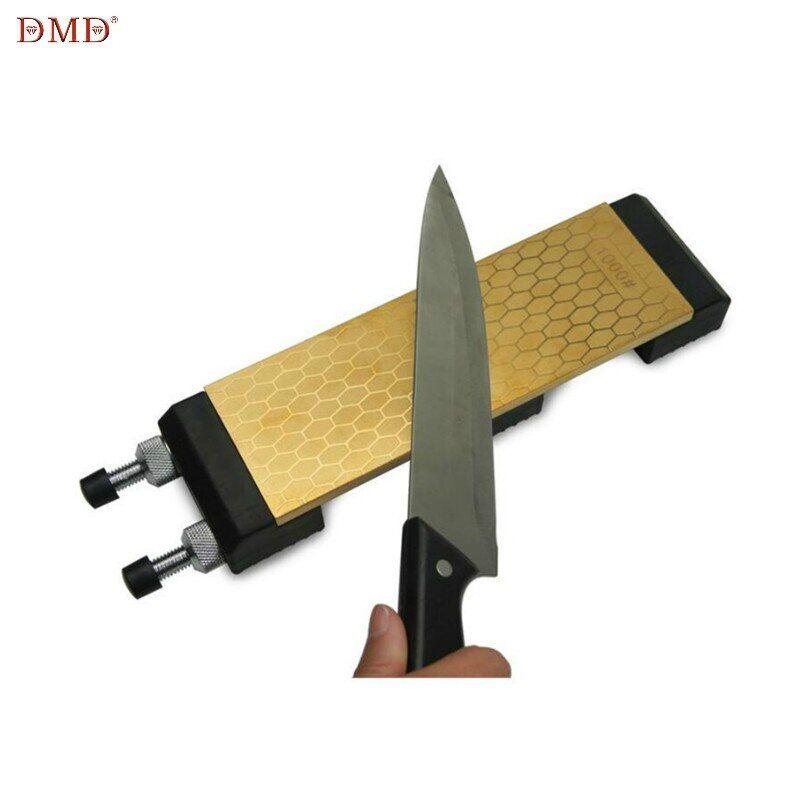 AliExpress DMD diamant pierre à aiguiser Double face 400 et 1000 grains titane couteau pierre à aiguiser avec