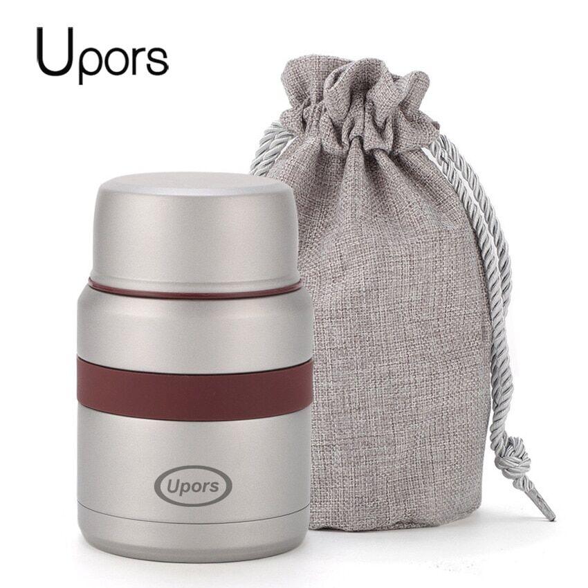 AliExpress UPORS – boîte à déjeuner isotherme pour enfants, Bento de 350ml, en acier inoxydable 304, Double