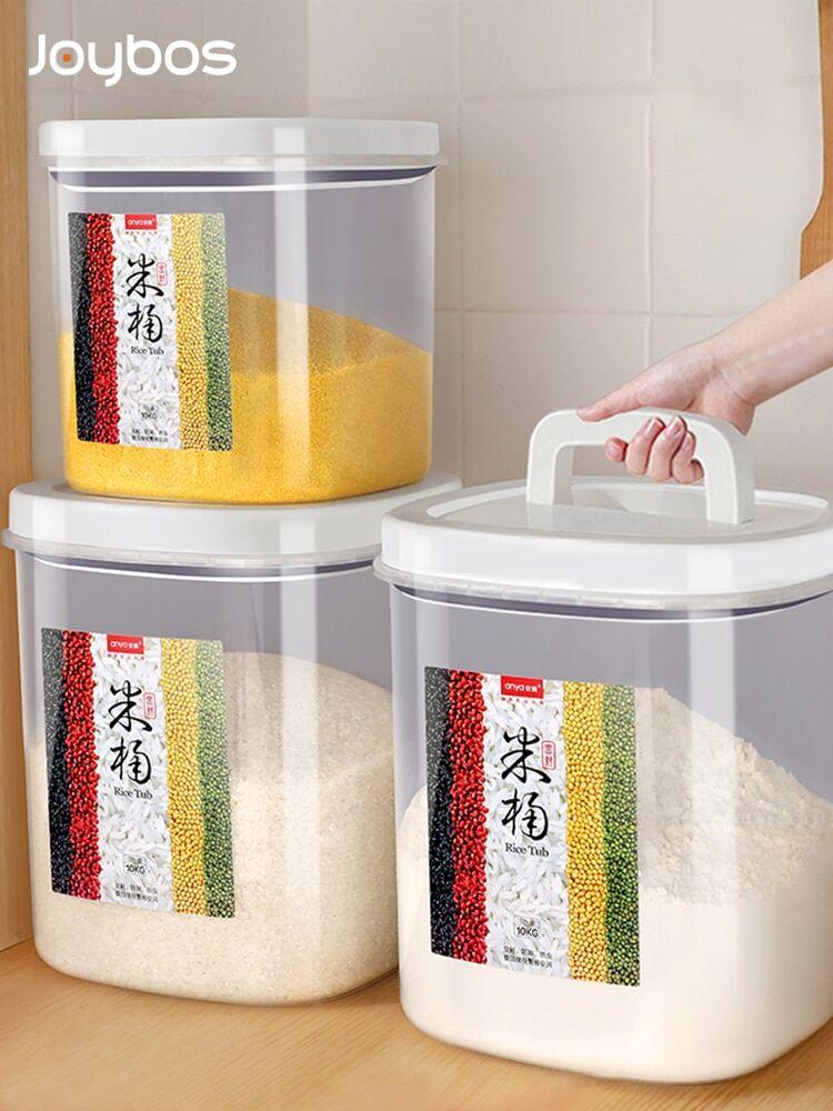 AliExpress JOYBOS – seau de riz étanche aux insectes et à l'humidité, seau de riz et nouilles de 10/20Kg,