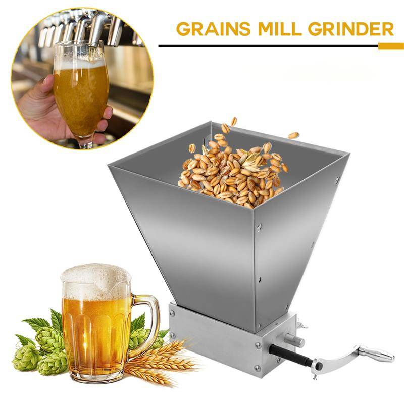 AliExpress 1L Grains Entiers Broyeur Alimentaire Processeurs Superfine Grand Manuel Machine à Poudre En Acier