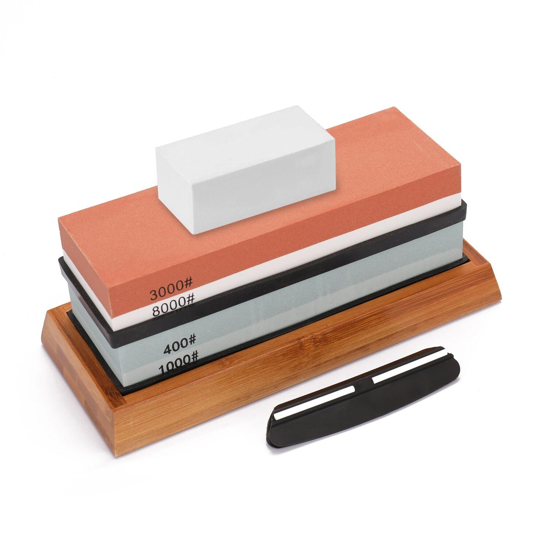 AliExpress Ensemble de pierres à aiguiser, aiguiseur de couteaux, pierre à aiguiser, outils de cuisine, grain