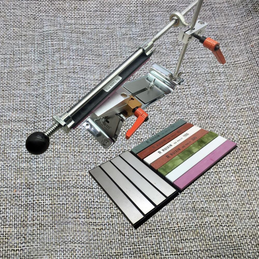 AliExpress Ruixin Pro – système d'aiguisage des couteaux, Clip à inversion, pince rotative à 360 degrés,