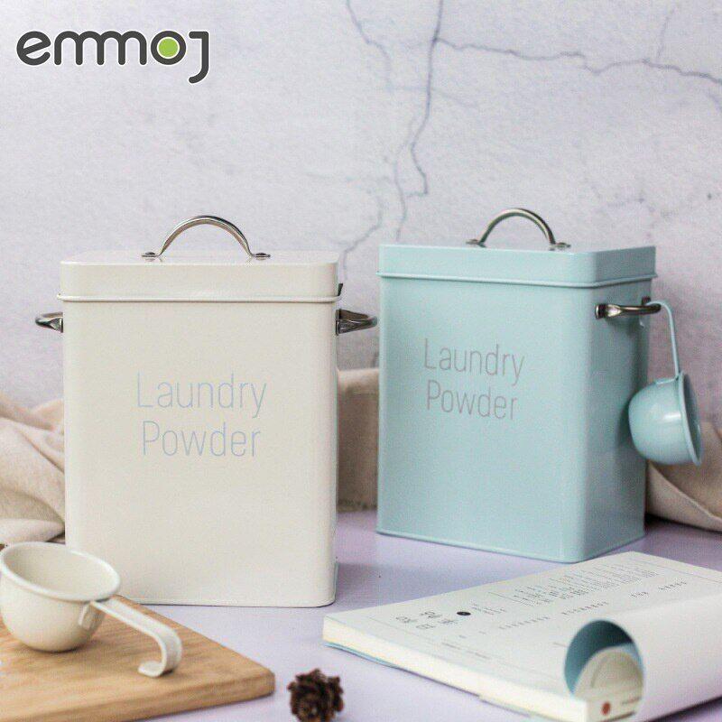 AliExpress Boîte de stockage de poudre à lessive, boîte carrée de stockage de poudre à lessive pour la maison