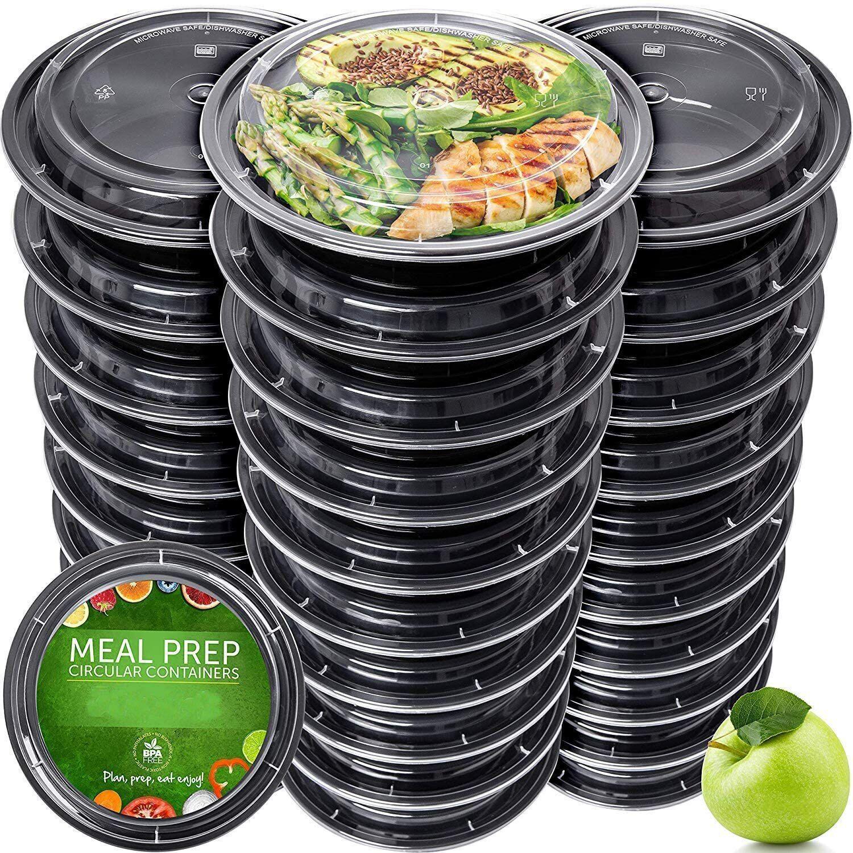 AliExpress Conteneurs réutilisables de conservation des aliments avec couvercle, 15 pièces, bols de préparation
