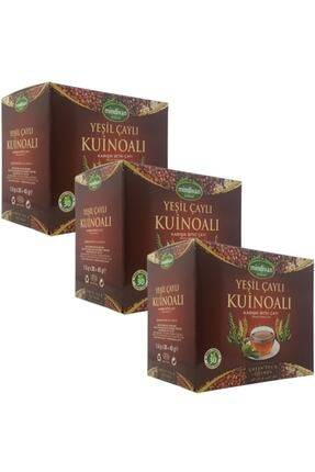 AliExpress Thé vert Quinoa tisane mixte 30 sacs filtrants-3 boîtes coupe ajustée antioxydant Detox Anti-âge