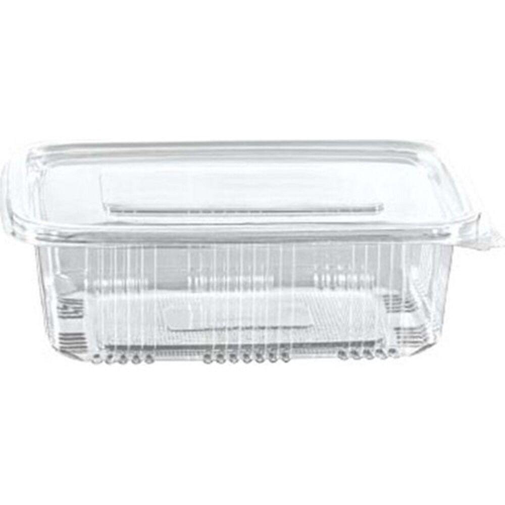 AliExpress Paquet de 100 conteneurs alimentaires à charnière en plastique transparent, boîte alimentaire à