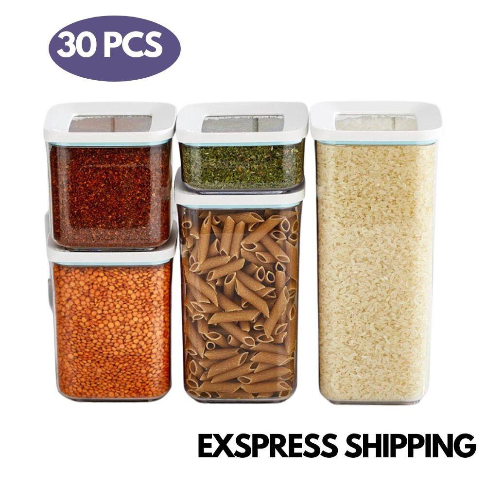 AliExpress Boîtes alimentaires en plastique transparentes et scellées, 250/900/1700ML, conteneur de stockage