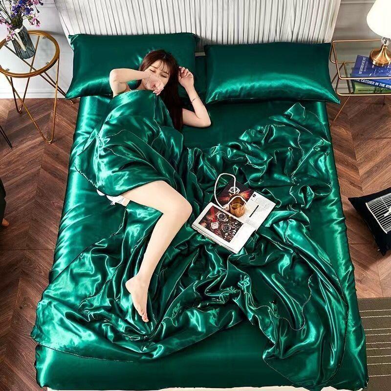 AliExpress Couette en soie rembourrée, confortable et douce, 1 pièces, nouveauté 2020
