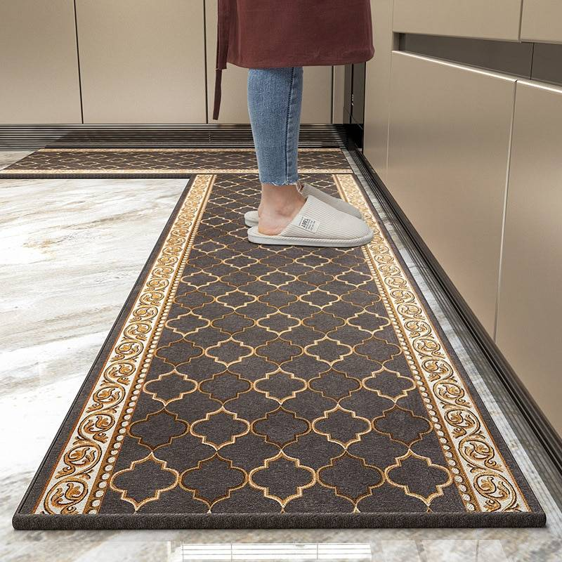 AliExpress Tapis de sol antidérapant Simple pour salle de bain, paillasson de cuisine, couloir, chambre à