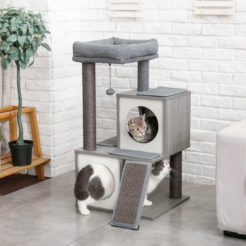 AliExpress Arbre à chat à plusieurs niveaux, meuble de maison, poste à gratter en Sisal pour tour à chat,