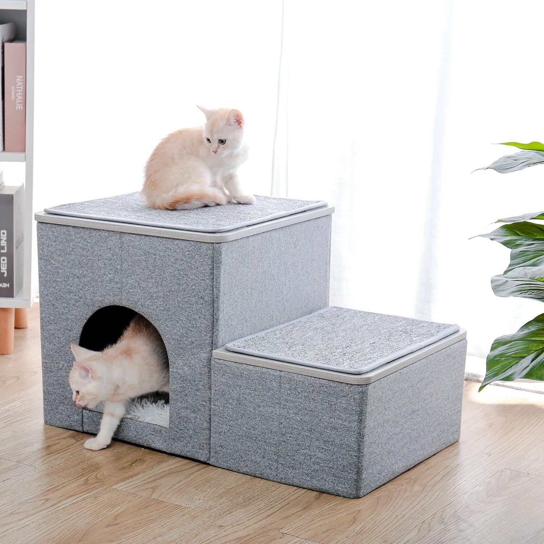 AliExpress Escalier à plusieurs marches pour chien, lit en hauteur, arbre à chat, meuble de maison, poste à
