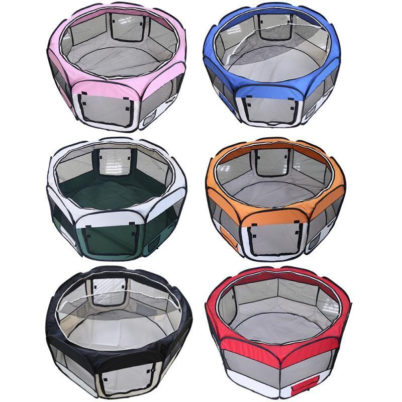 AliExpress Tente octogonale pour chien, maison Portable, chenils d'extérieur respirants, barrières pour chats