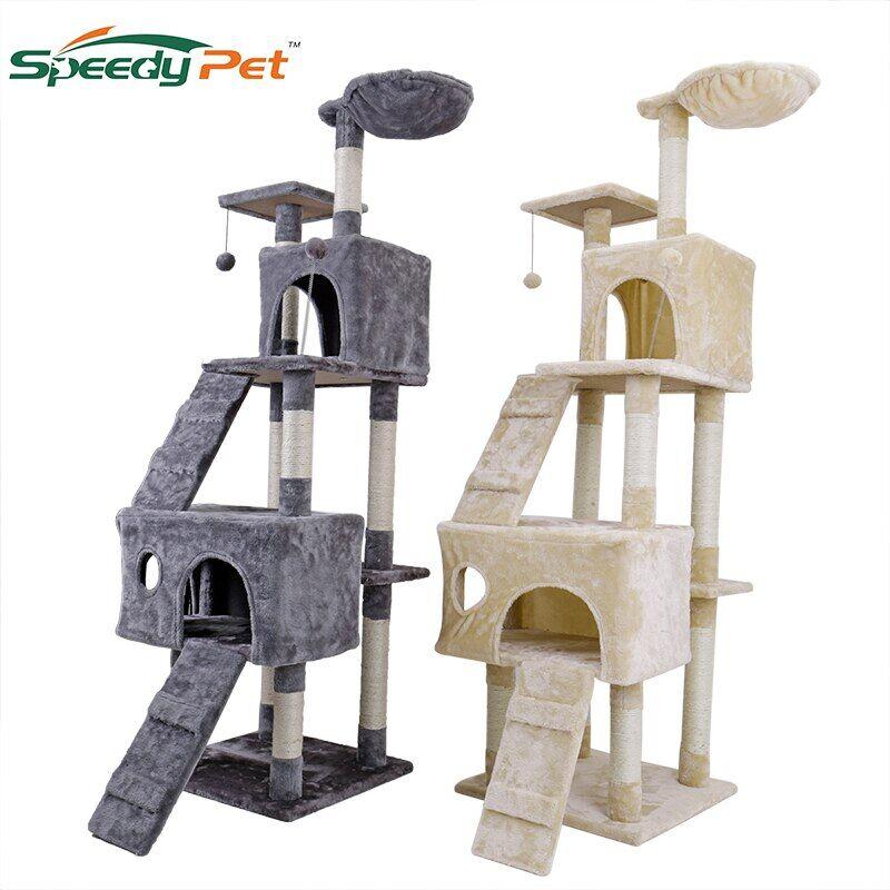 AliExpress Grand cadre d'escalade pour chat, livraison nationale, jouet à gratter, arbre de maison, meubles