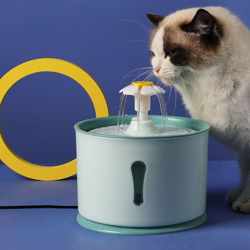 AliExpress MADDEN – fontaine à eau automatique pour chats et chiens, avec capteur, filtre à charbon actif,