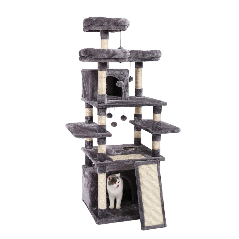 AliExpress Arbre à chat multicouche avec échelle, meuble de maison de luxe, en Sisal, poste à gratter pour