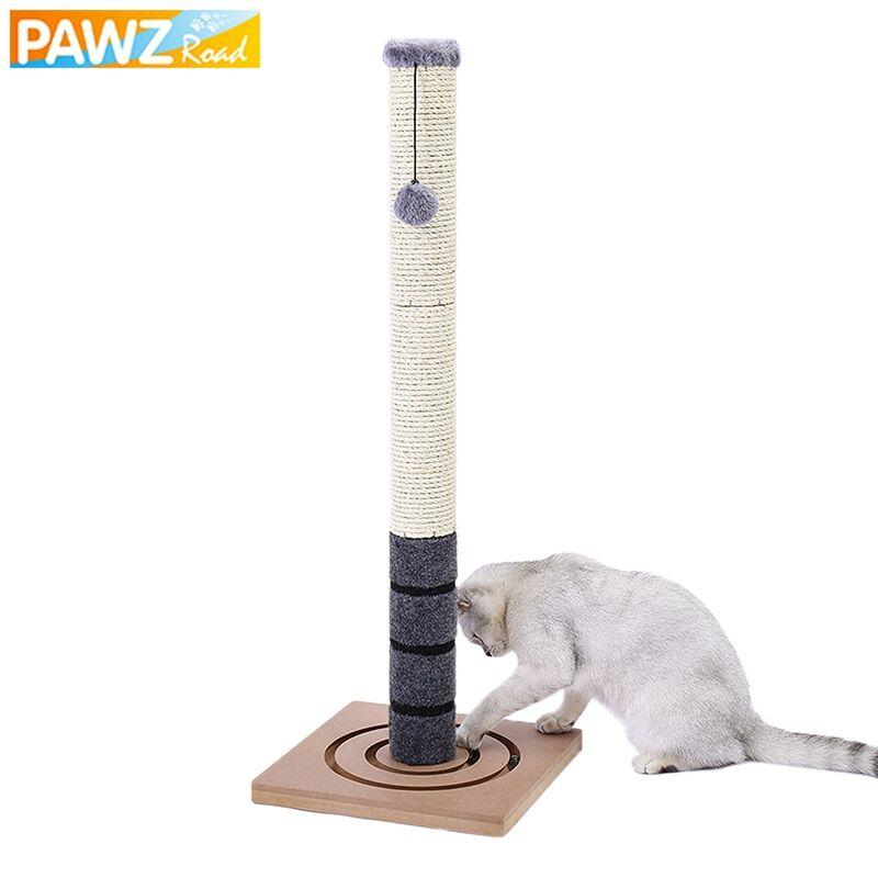 AliExpress Arbre à chat en Sisal, poste à gratter pour chats, chaton, tour de saut, jouet avec balle, meubles