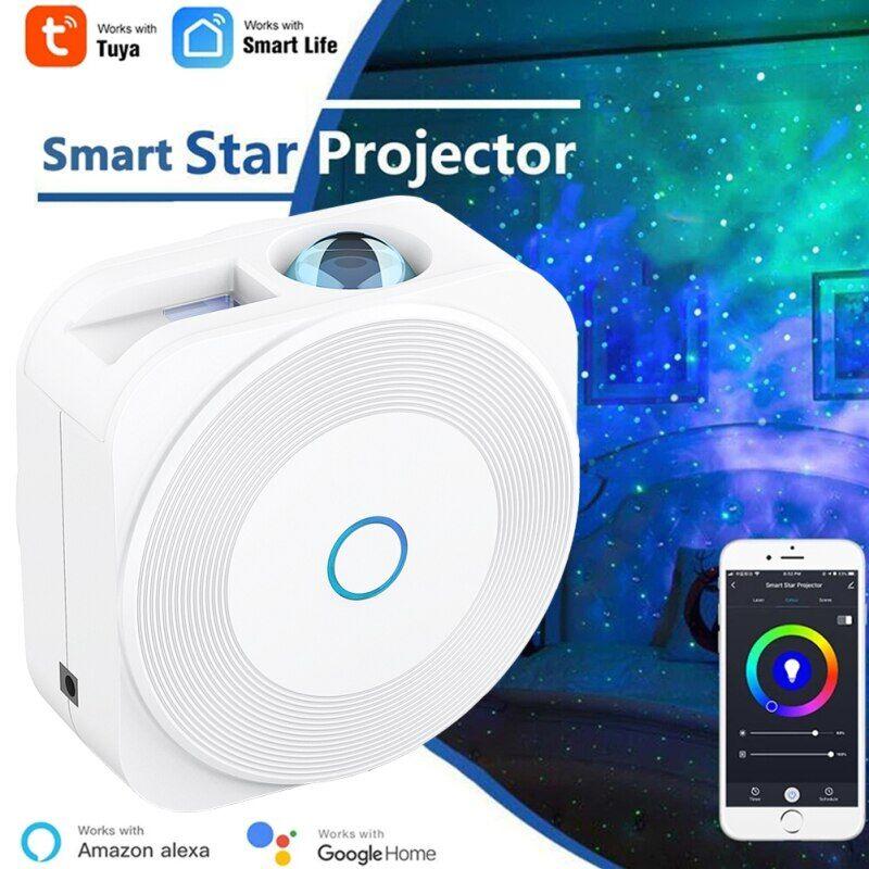 AliExpress Projecteur d'étoiles intelligent Tuya, projection de galaxie intelligente, WiFi, Laser, ciel étoilé