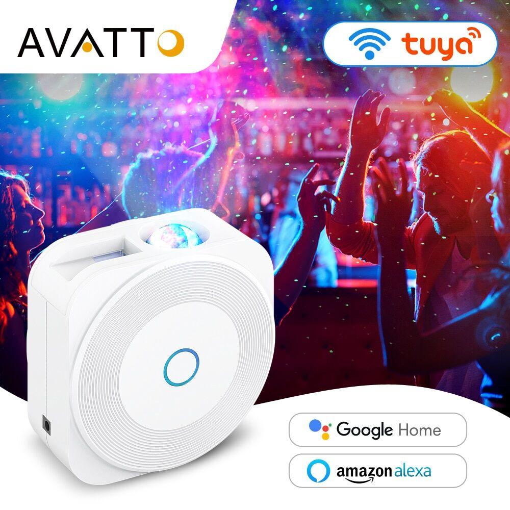 AliExpress AVATTO – projecteur d'étoiles de musique intelligent, WiFi Tuya, pour fête de vacances, Nebula de