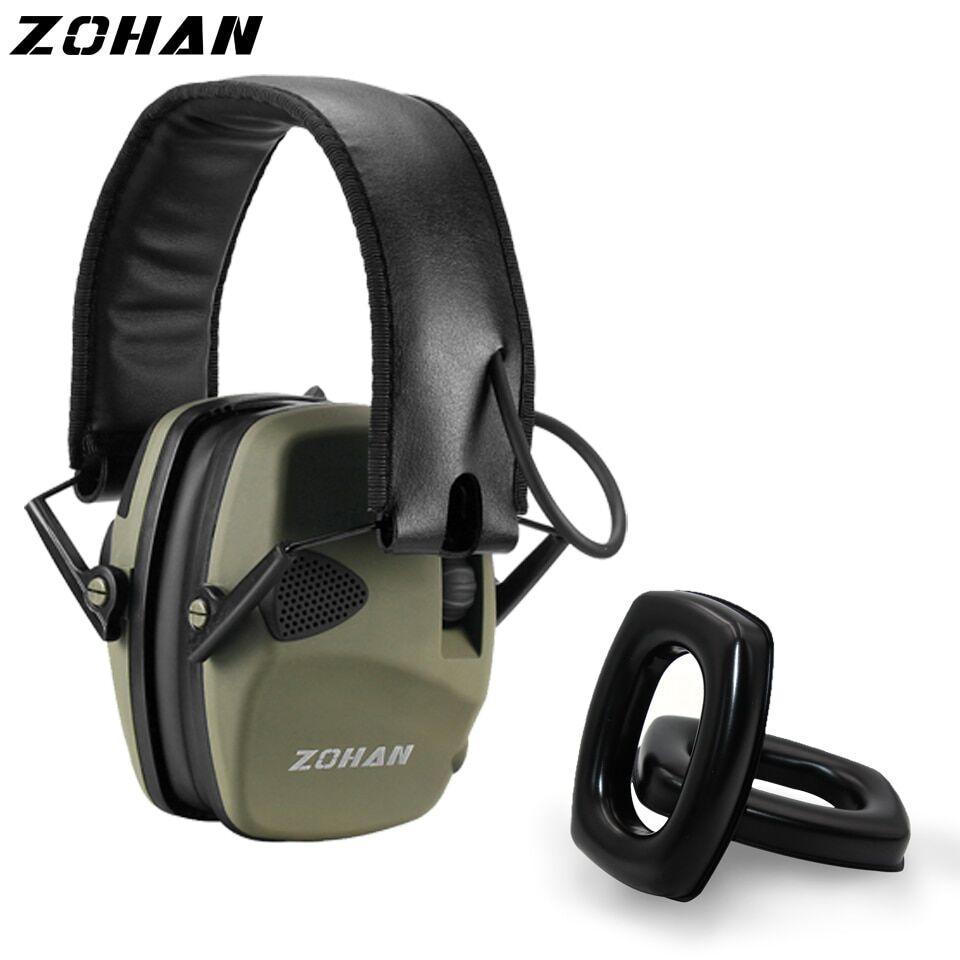 AliExpress ZOHAN – protège-oreilles électronique, protection contre le bruit, pour la chasse, casque d'écoute