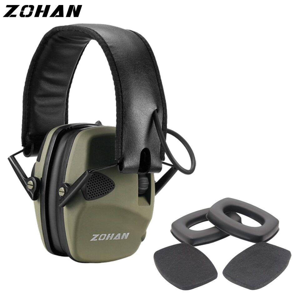AliExpress ZOHAN – casque d'écoute tactique électronique, Protection auditive, anti-bruit, pour chasse, tir