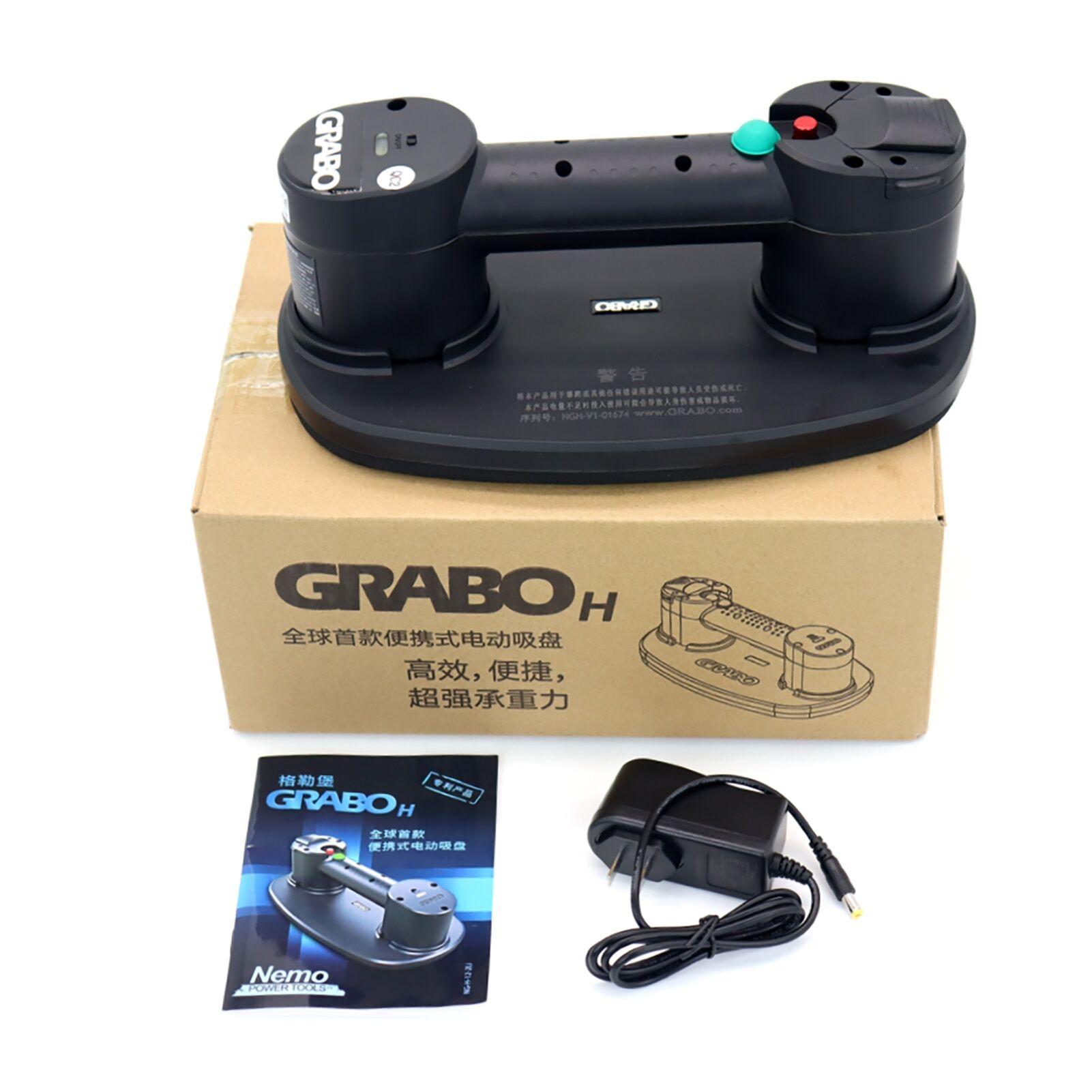 AliExpress Grabo – ventouse à vide électrique, Version H, pour carrelage, bois, pierre, granit, verre, outil de