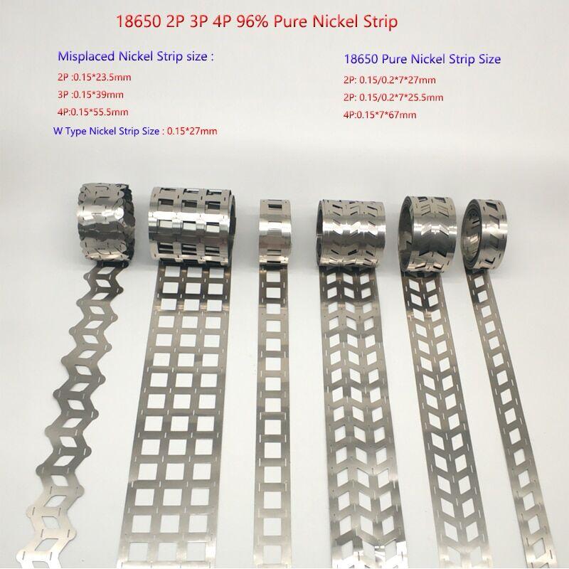 AliExpress Bande de Nickel pur 5M 2P 3P, Type W, feuille de Nickel mal placée, Machine à souder par points pour