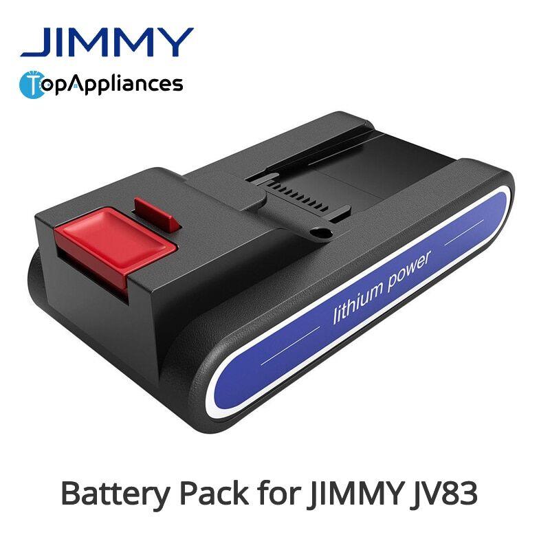null JIMMYJV83/JV85 PRO/JV51/JV53 – Pack de batteries de remplacement pour aspirateur à main sans fil,