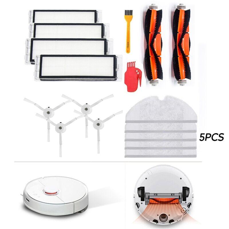 null Accessoires pour aspirateur Xiaomi Roborock S5 Max S6 S50 S51 S55, pièces détachées, filtre HEPA +