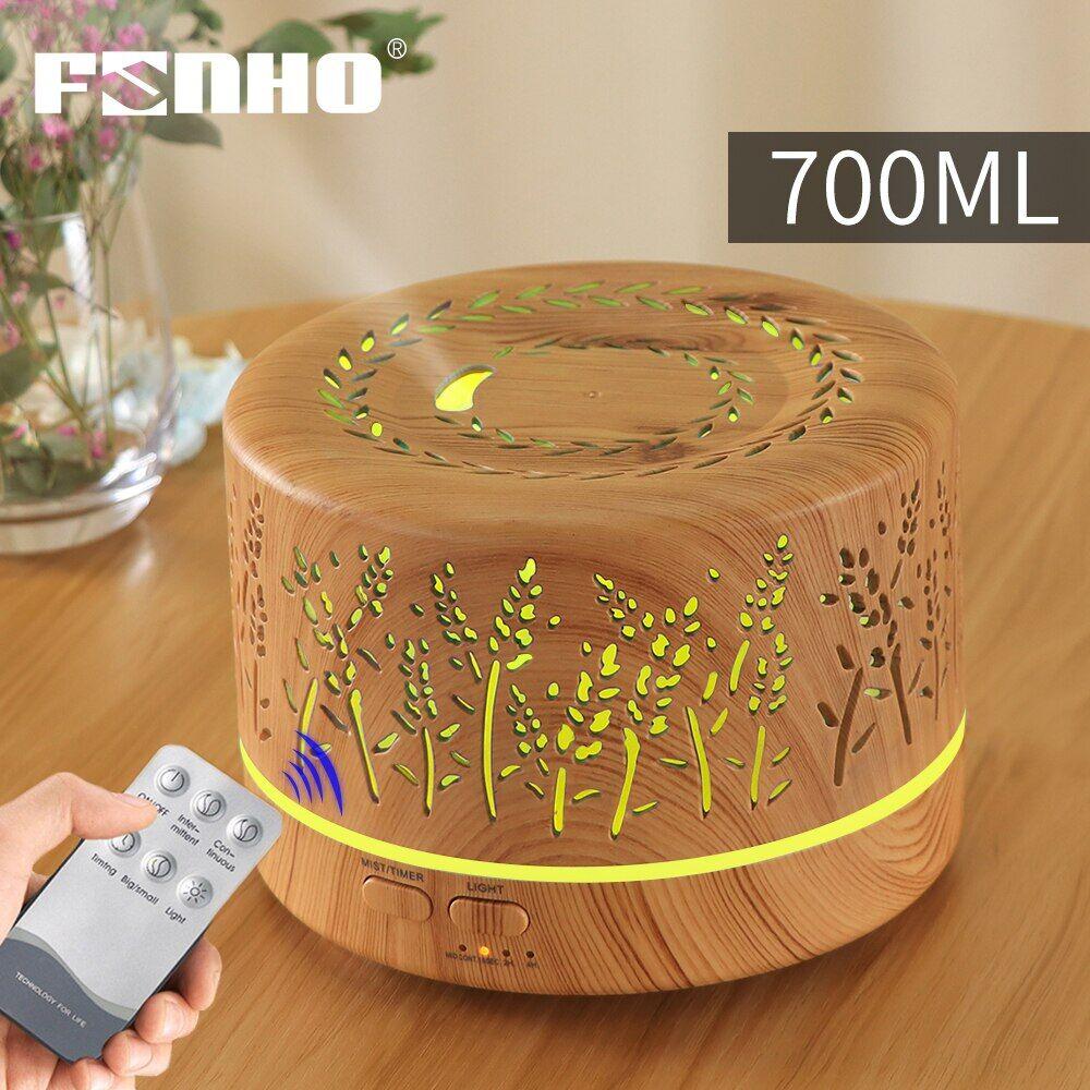 AliExpress FUNHO – humidificateur d'air électrique ultrasonique avec télécommande, diffuseur d'arôme et d'huile