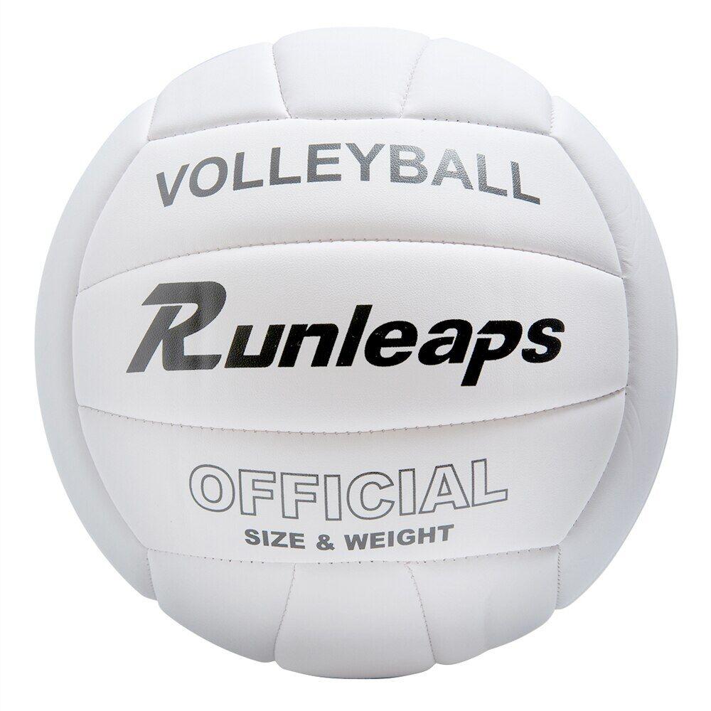 AliExpress Ballon de volley-Ball en PU souple, blanc pur, de haute qualité, taille officielle 5, intérieur et