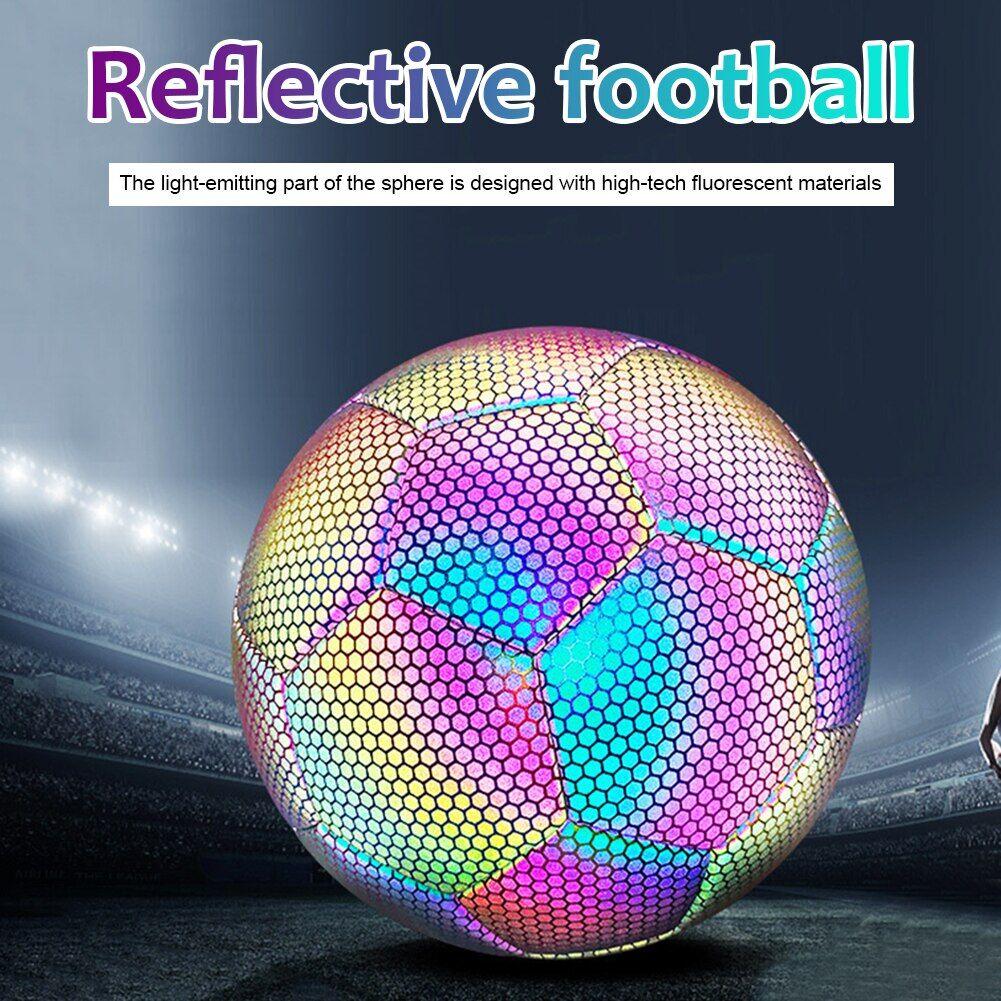AliExpress Ballon de football réfléchissant, lumineux, brille dans la nuit, pour entraînement en équipe en