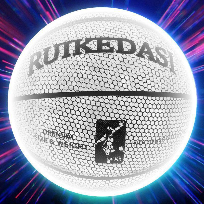 AliExpress Ballon de basket holographique réfléchissant, taille 7 en PU, pour homme et femme, ballon