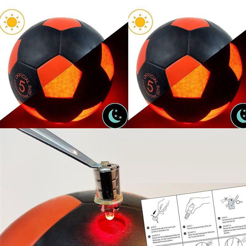AliExpress Ballon de Football brillant à LED, taille 5, 2020, brillant, Standard