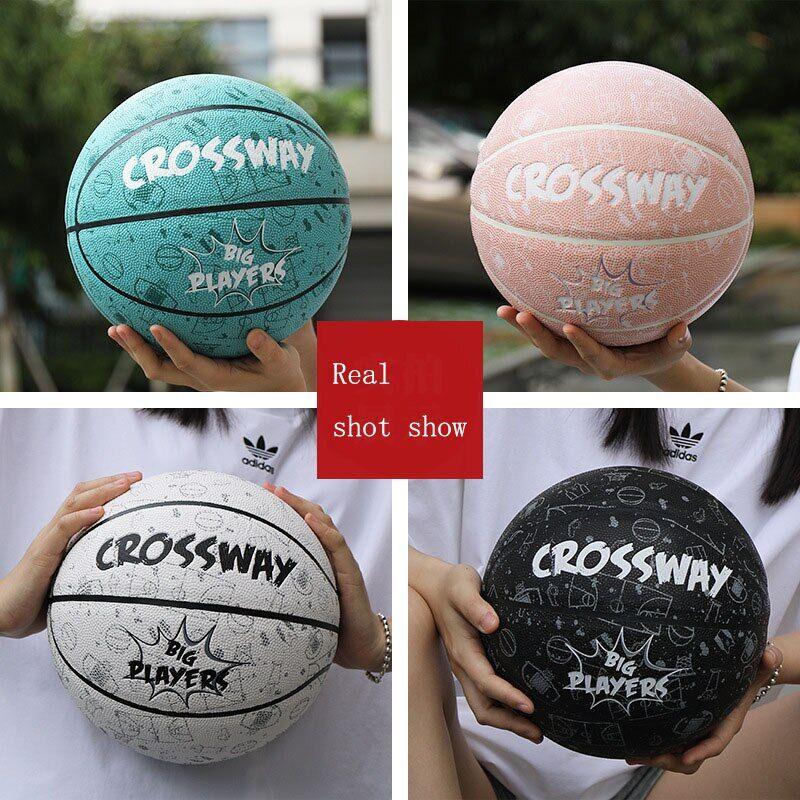 AliExpress Ballon de basket-ball de haute qualité, taille officielle n 7, en cuir PU, pour l'intérieur et