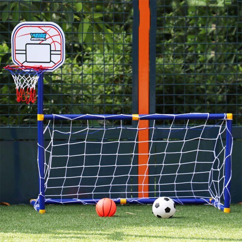AliExpress Mini jouet d'entraînement 2 en 1 pour enfants, Sports de plein air, basket-ball, ballon de Football,