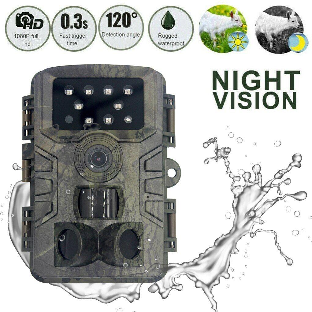 AliExpress Caméra de chasse et de suivi des sentiers en plein air, résolution 1080P, étanche, pour observer la