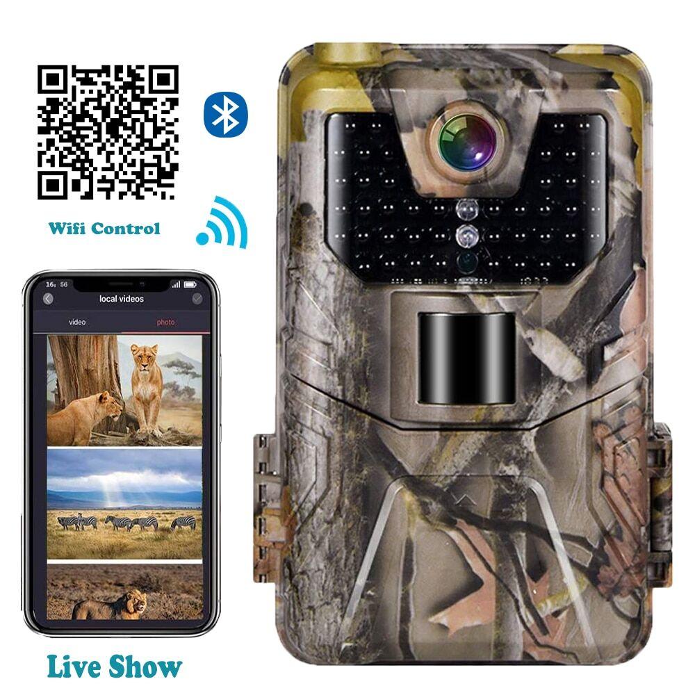 AliExpress Caméra de chasse et de suivi des sentiers avec application Wifi et Bluetooth, contrôle en direct,