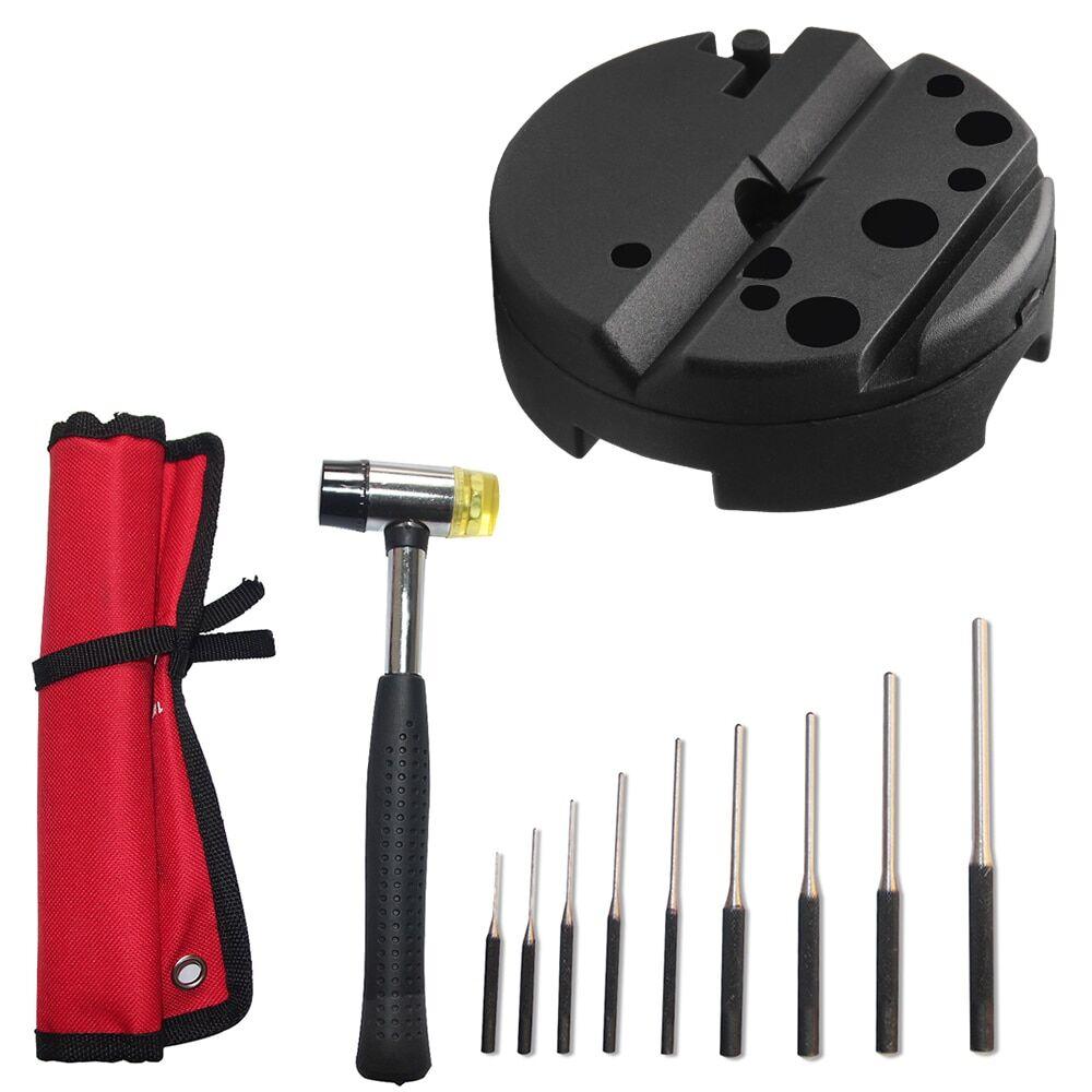 AliExpress Jeu de poinçons à rouleau tactique 9/13 pièces, Kit d'outils à enrouler pour la chasse AR15 M16,