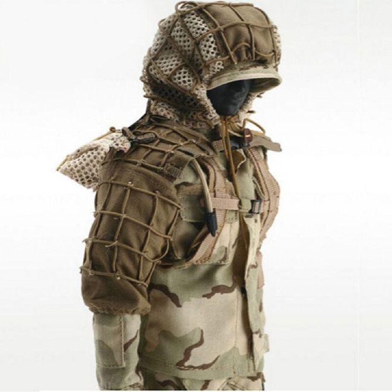 AliExpress Vêtements d'entraînement tactique CS de chasse avec fil, combinaisons Ghillie en maille de