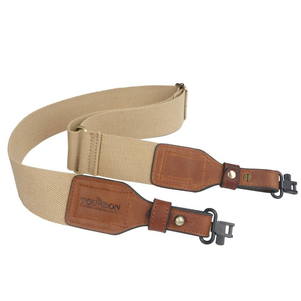 AliExpress Accessoires de chasse en forme de Tourbon, sangle d'épaule et ceinture en cuir pour fusil de chasse